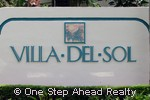 sign for Villa Del Sol