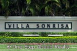 sign for Villa Sonrisa